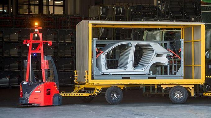 Autonomous Transport Begins in Seat Factory