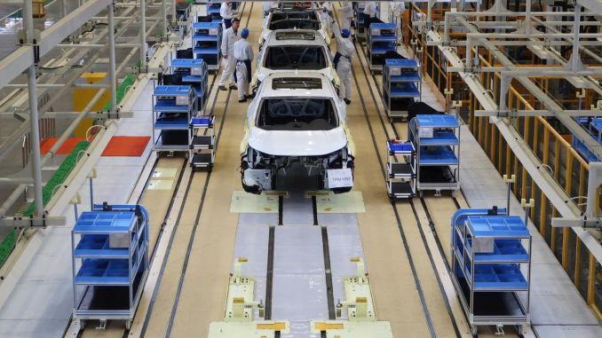 Car Production Starts Back in