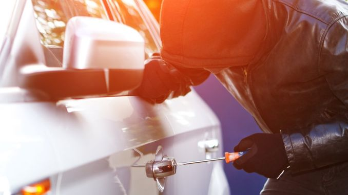 5 methods used for car theft