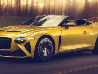Bentley Bacalar Mudeli hind ja omadused