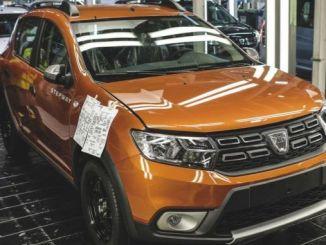Dacia detiene la producción