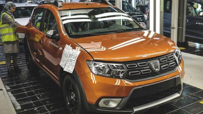 Dacia Interrupts Production