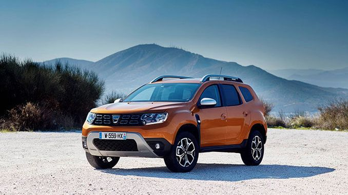 Dacia Duster 2020 Specifications