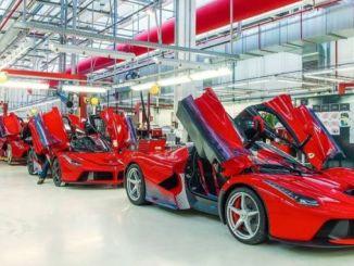 Ferrari stoppade produktionen