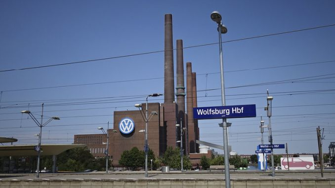 Volkswagen Interrupts Production