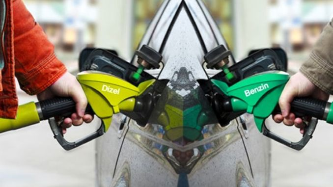 How much are the new gasoline and diesel prices