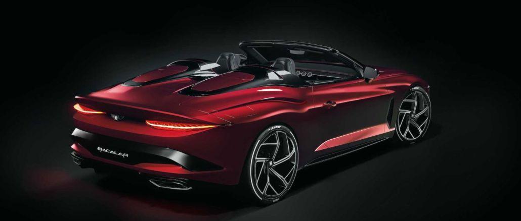 Bentley Bacalar Kırımız Renk