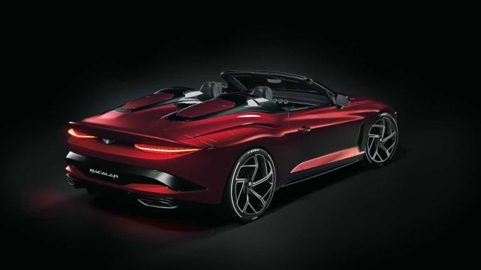Bentley Bacalar Red Color