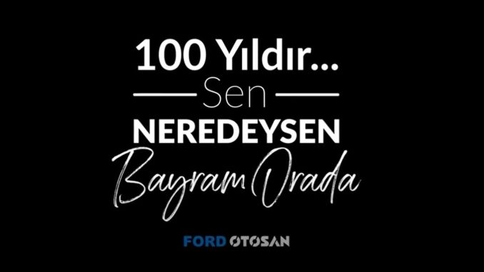 Ford Otosan April National Sovereignty and Children's Day