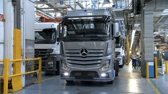 Back at the Mercedes Plant Opens in Turkey