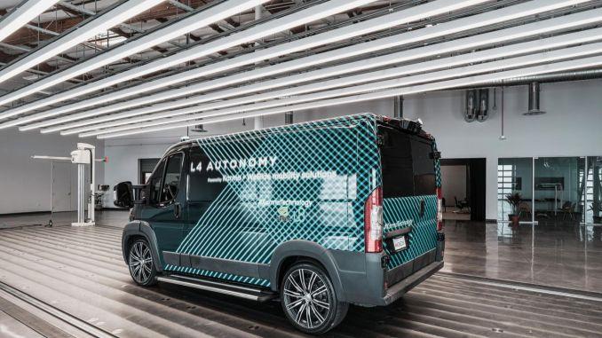 Autonomous and Electric Cargo Van
