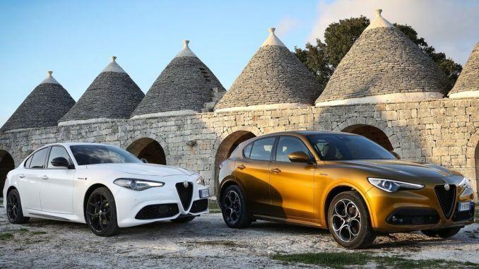 New Alfa Romeo Stelvio yellow