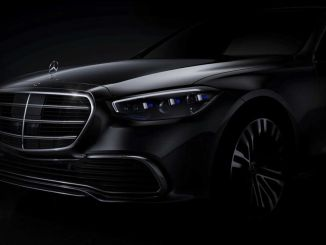 First photo of new Mercedes S Series has arrived