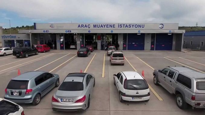 arriving at vehicle inspection stations zam rate