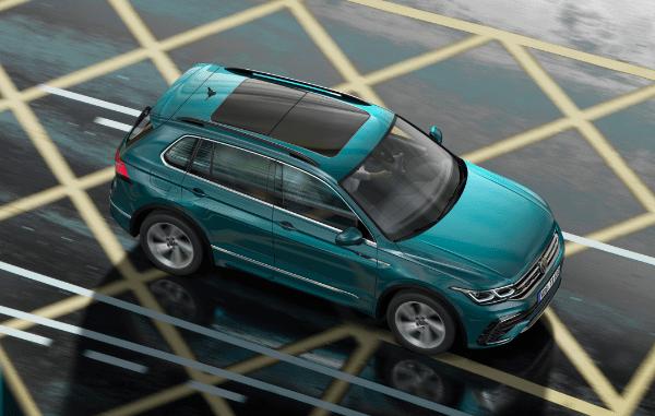 Europe's most preferred suvu Volkswagen tiguan has been renewed