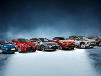hybrid record from toyota in europe