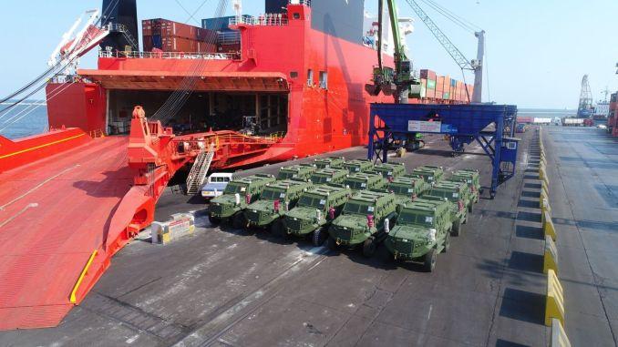 turk zirhli combat vehicle services on the way to africa