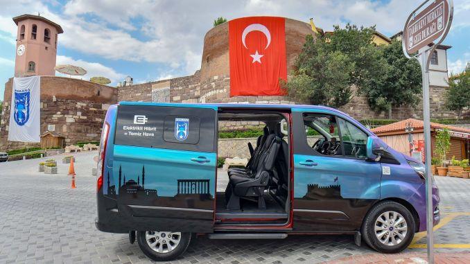 touristic hybrid vehicle is very popular in Ankara
