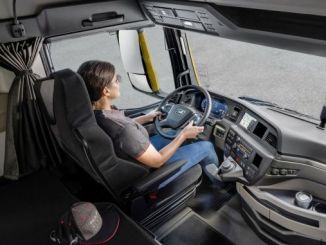 new generation man truck driver district wins red dot award