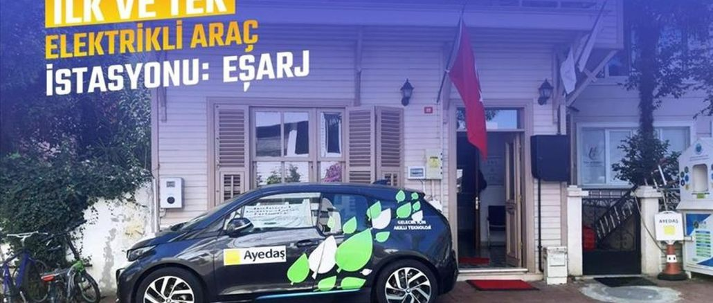Adalar's First Electric Vehicle Charging Station Is Charged