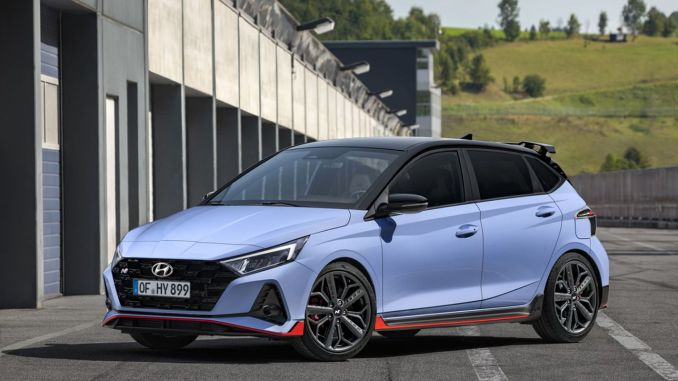 High Performance in B Segment, Hyundai i20 N