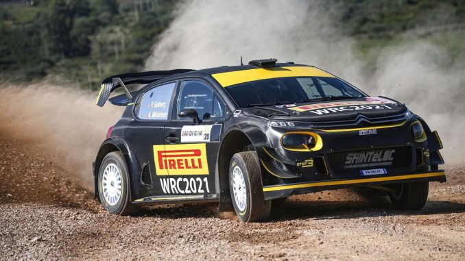 Pirelli Introduced 2021 World Rally Championship Tires Made in Izmit, in Sardinia