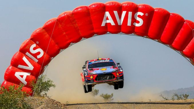 TOSFED, pending for WRC Rally of Turkey