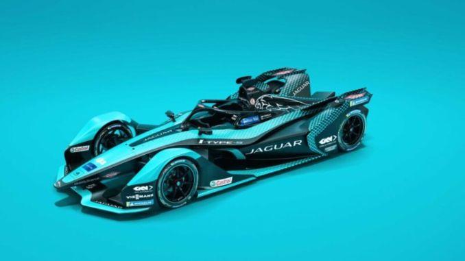 Jaguar's new electric racing car i type introduced