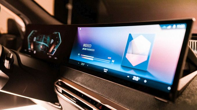 Introduced the new generation of the bmw idrive system