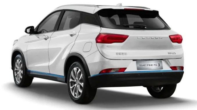 possessed brings the first electric car giant SUV model dfsk to Turkey Seres