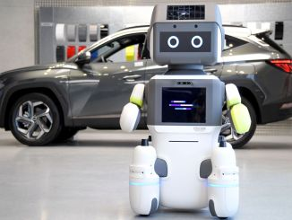 hyundai engine group introduced humanoid robot branch