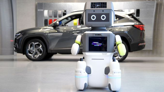 hyundai motor grubu insansi robot dal eyi tanitti