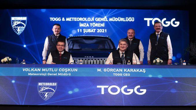 turkiyenin car tOGGer and MGM signed a protocol