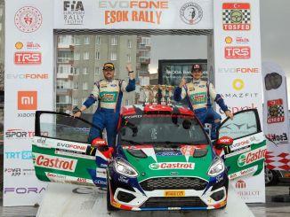 Castrol-Fordi meeskonna Türgi piloodid alustasid kiiresti Türgi ralli meistrivõistlusi