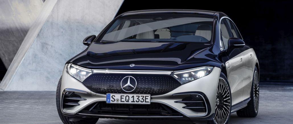 Mercedes eq markasının lüks sinifindəki ilk elektrikli avtomobili olan eqs tanıdıldı