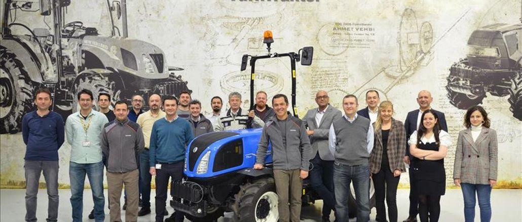 turktraktor har startet eksporten af en helt ny traktor