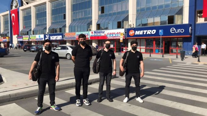 Mercedes Benz Turk made special activities for bus passengers and companies