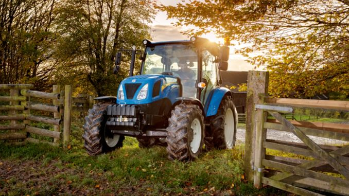 tractors produced by new holland with safer driving equipment meet farmers