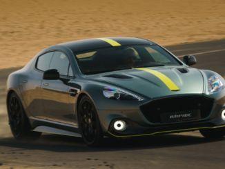 Aston Martinin uusi Rapide-malli puhuu paljon