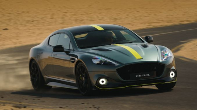 Aston martin's new model rapide am going to talk a lot