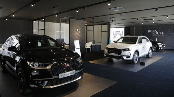 ds automobiles opened the fifth ds store in turkey in Bodrum
