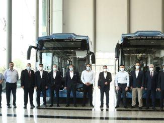 Ang unang domestic electric electric bus ng Turkey ay bumaba sa banda