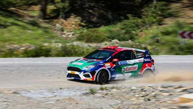 castrol ford team is ready for hitit rally with its young and promising pilots
