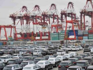 China exported a thousand cars in the first half of the year
