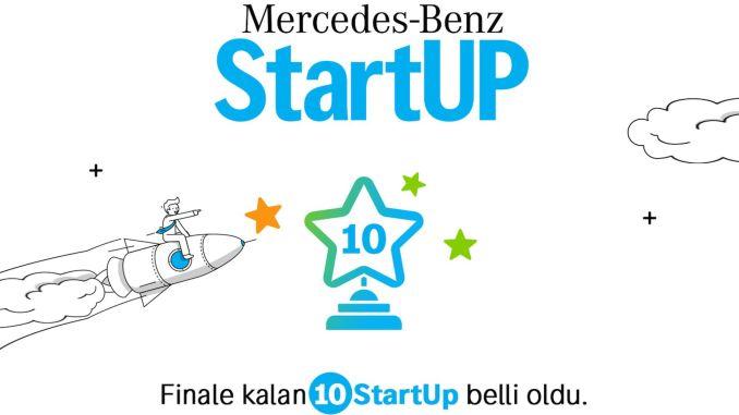 First startup determined at mercedes benz startup