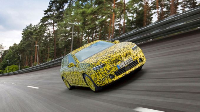 opel astra has come to the end of its tough test marathon
