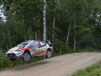 toyota aims to add a new one to its wrc wins in estonia rally