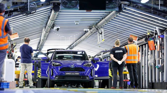 toyota starts production of new race cross b suv