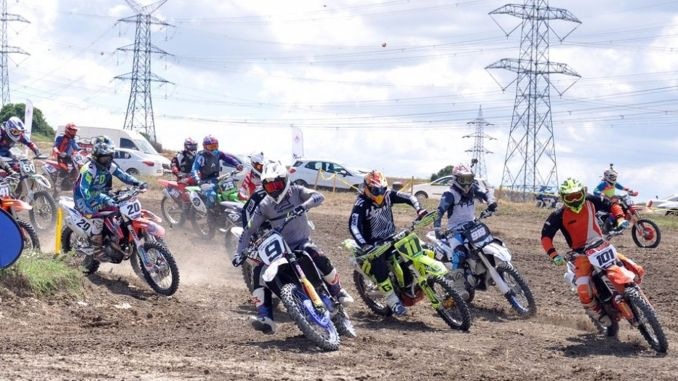 The second leg races of the turkish motocross championship were held in istanbul