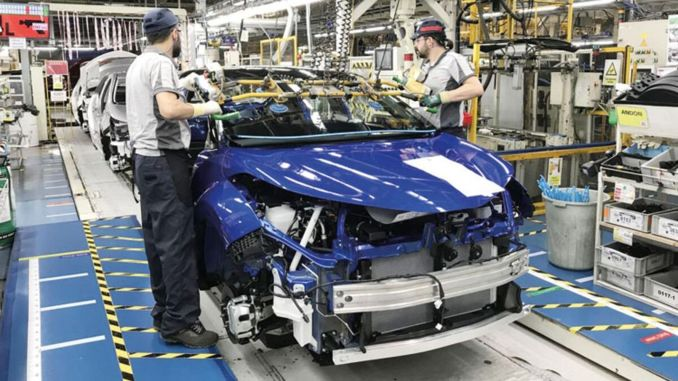 In the first seven months, automotive production and exports increased by percent.